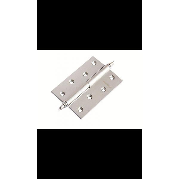 Петля Morelli латунная разъёмная с короной MB 100X70X3 SC L C
