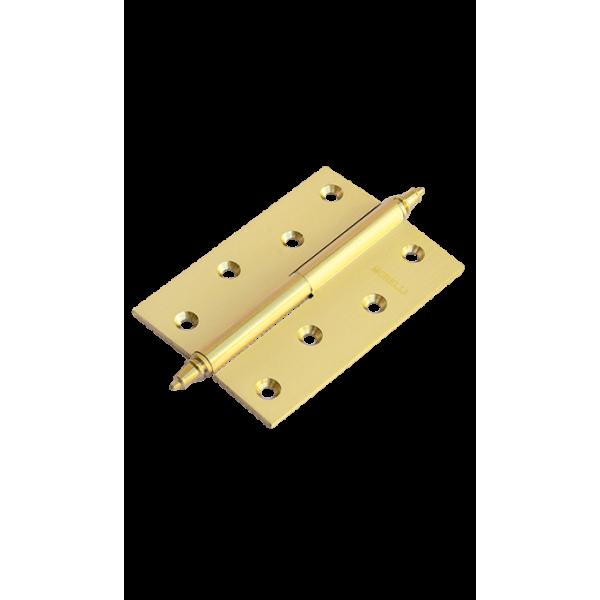 Петля Morelli латунная разъёмная с короной MB 100X70X3 SG L C