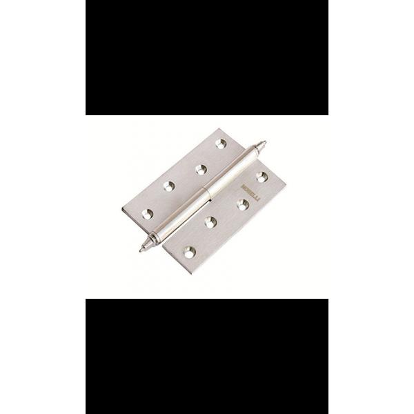 Петля Morelli латунная разъёмная с короной MB 100X70X3 SN L C