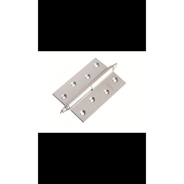 Петля Morelli латунная разъёмная с короной MB 100X70X3 AB R C