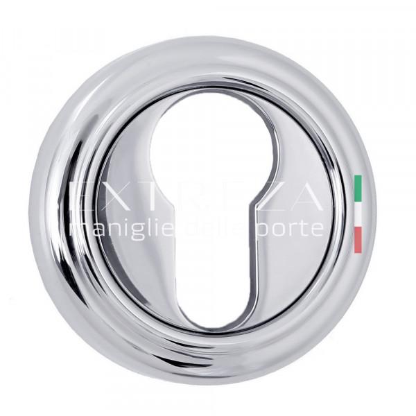 Накладка дверная Extreza CYL под цилиндр R01 полированный хром F04